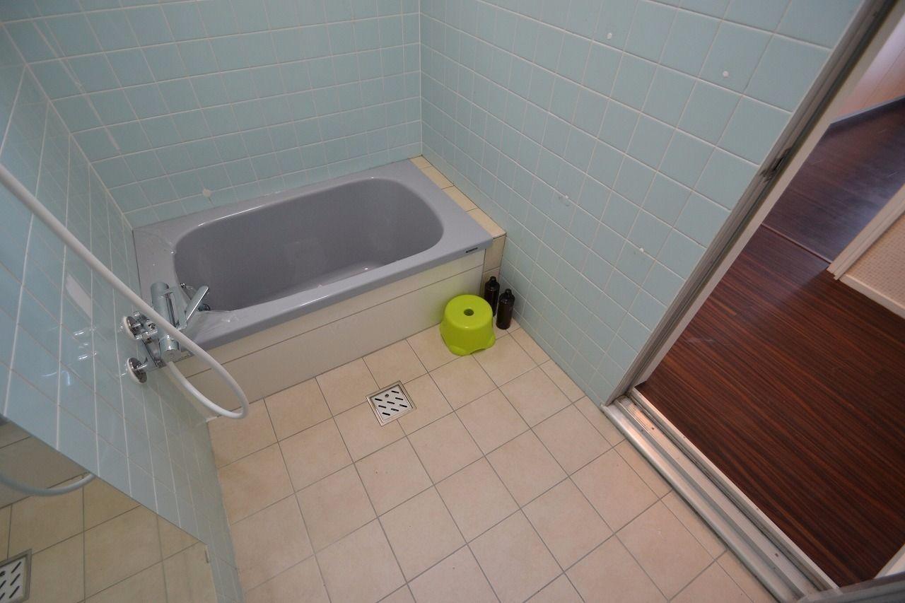 浴槽も大きいですよ