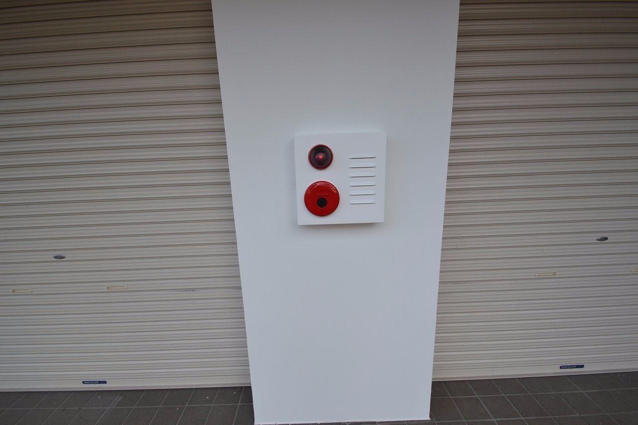 火災警報器です