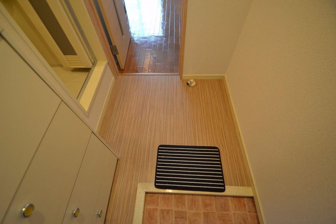 室内洗濯機置場を設置しました!