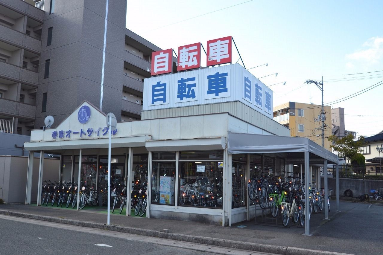 下見の唯一の自転車屋さん。