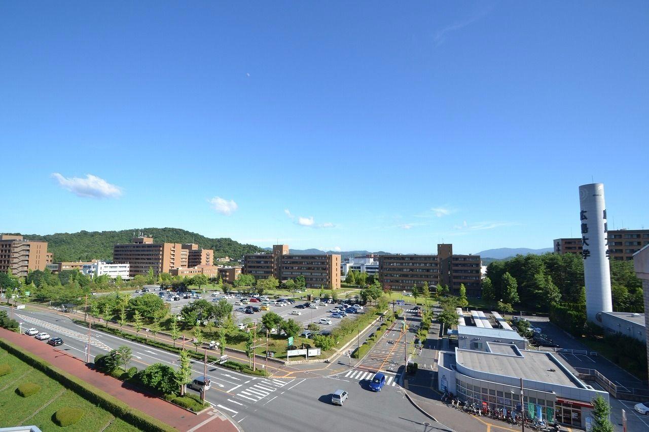 中四国最大の大学です!