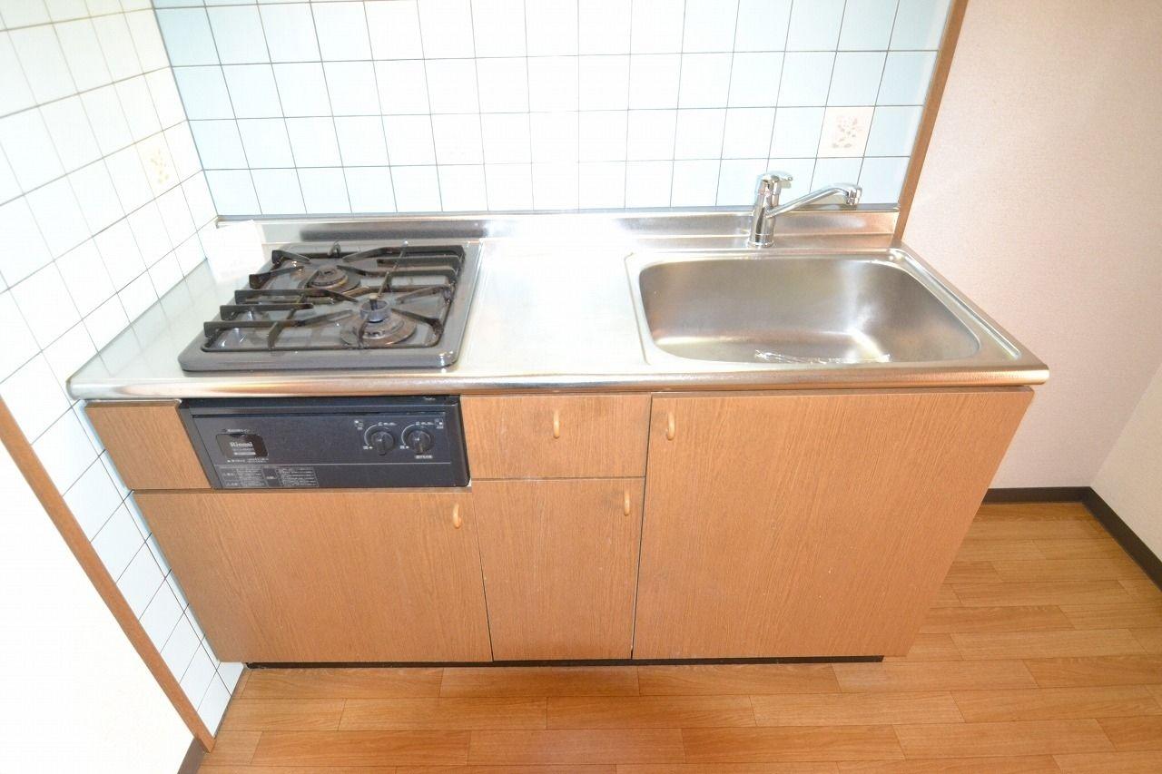 システムキッチン採用で料理が楽しく♪