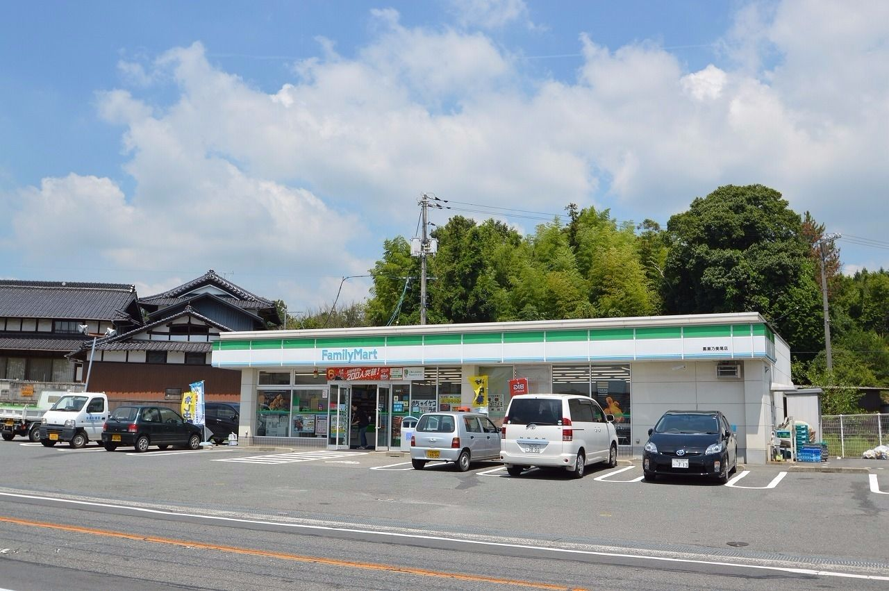 他にも県道375号線沿いにいくつかコンビニがある。
