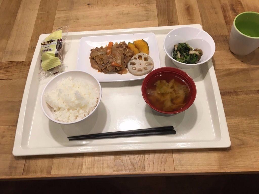 カレッジコート広島大学前で夕食を食べてみた!