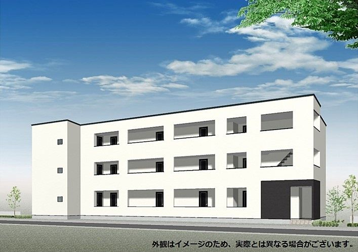 東広島市西条中央に単身用新築アパートが誕生